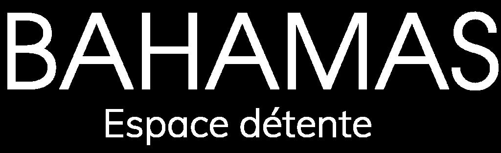 Logo espace détente Bahamas blanc