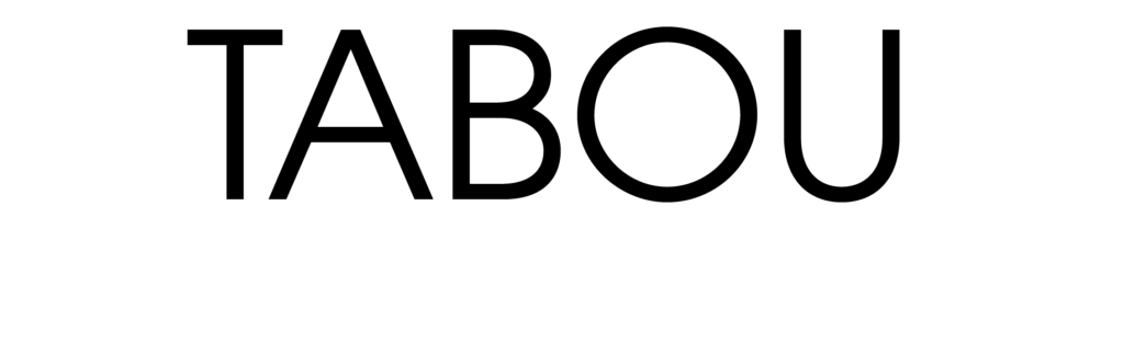 Logo bar et restaurant Le Tabou en noir